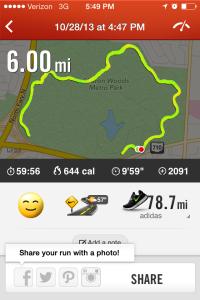 6 miler
