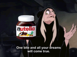 one bite nutella