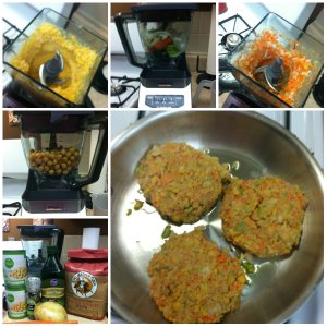 garbanzo bean burgers