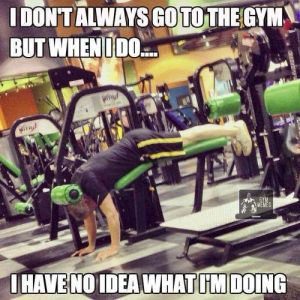 gym malfunction